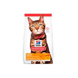Hill's Science Diet Adult Light gato 16lb