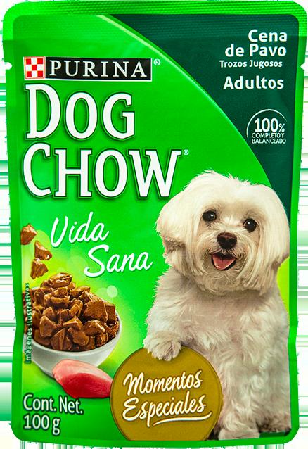 Comida húmeda para perro Dog Chow adulto pavo x 100 gr