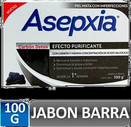 Asepxia Jabon Facial Antiacne Carbon 100 G
