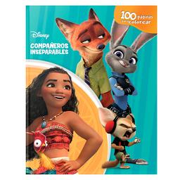 Disney Compañeros Inseparables 100 Paginas Para Colorear