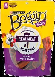 Snack para perro Beggin tocineta  x 85 gr