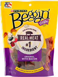 Snack para perro Beggin tocineta  x 170 gr