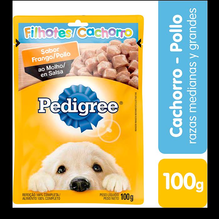 Pedigree Alimento Húmedo Pollo Perro Cachorro