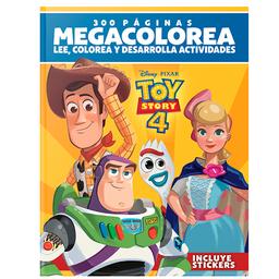 Disney Pixar Toy Story 4 Megacolorea 300 Paginas