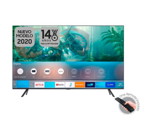 "Samsung Televisor Led 50"" (127 cm) Uhd"