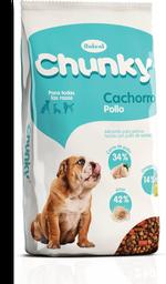 Chunky cachorro pollo 9 kg