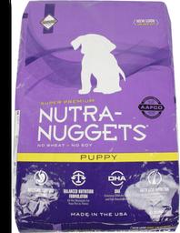 Nutra nuggets puppy bolsa morada 7.5 kg