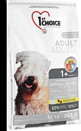 1st choice adulto hipoalergenico bolsa gris 12 kg