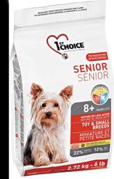 1st choice perro senior rz peq bolsa nj os 2.72 kg
