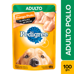 Pedigree pouch adulto pollo en salsa 100 gr