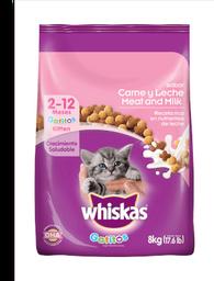 Whiskas gatitos 8 kg