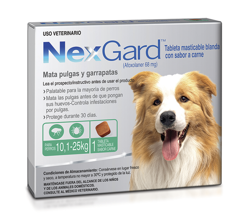 NEXGARD Dog L 1 CHEWAB X 10 (10.1-25kg)