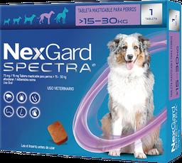 NEXGARD SPECTRA L 1 CHEWAB X 10 (15-30kg)