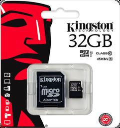 Memoria Micro Sd Kingston 32gb Clase 10