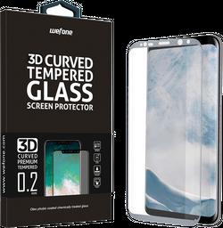 Vidrio Templado Completo Wefone Samsung S8 3D Plata