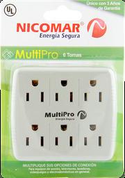 Multitoma Nicomar Multipro 6 Salidas