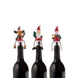 Tapón botella de vino navidad mikasa store