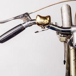 Inusual Design Campana Para Bicicleta Cat Bike Bell
