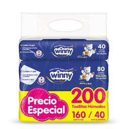 Winny Toallitas Húmedas + caja para pañales
