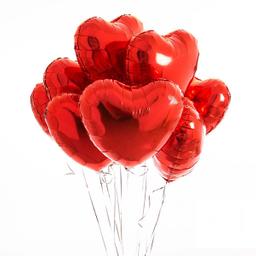 Globo metalizado - Red Heart