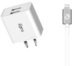 Power Charger Duo Lightning