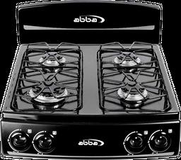 Cocineta Abba 4 Puestos Porcelanizada Torre - Sg400-1N Negra Ql