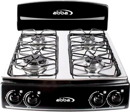 Sg 4006 Qa Negra - Cocineta Abba 4 Puestos Qa