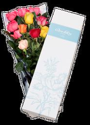 Caja de 10 rosas
