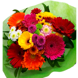 Bouquet Tropical Con Gerberas
