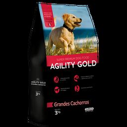 Agility Gold Grandes Cachorros 3 Kg