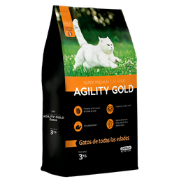 Agility Gold Gatos  3 Kg
