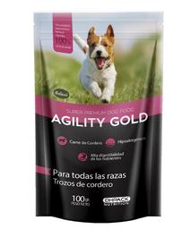 Agility Trozos De Cordero 100 Gr