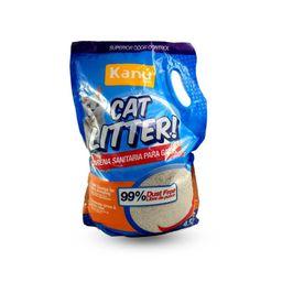 Arena para Gato Cat Litter Kanu 4.5 KG