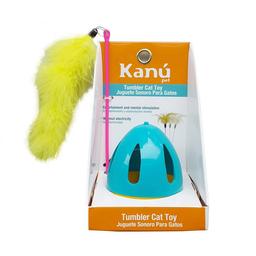 Juguete Sonoro Con Pluma Azul Kanu para gato