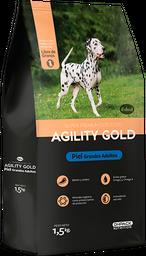 AGILITY GOLD GRANDES ADULTOS PIEL 8 KG