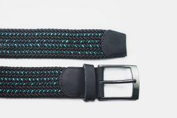 Cinturón negro vena azul