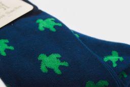 Medias tortugas azules