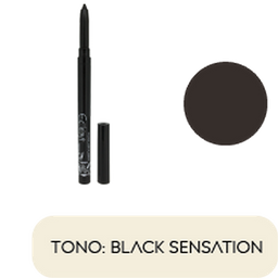 Lapiz de Ojos Retractil  Ecleyr Tono Black Sensation