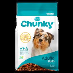 Chunky Adulto  Pollo 9 Kg