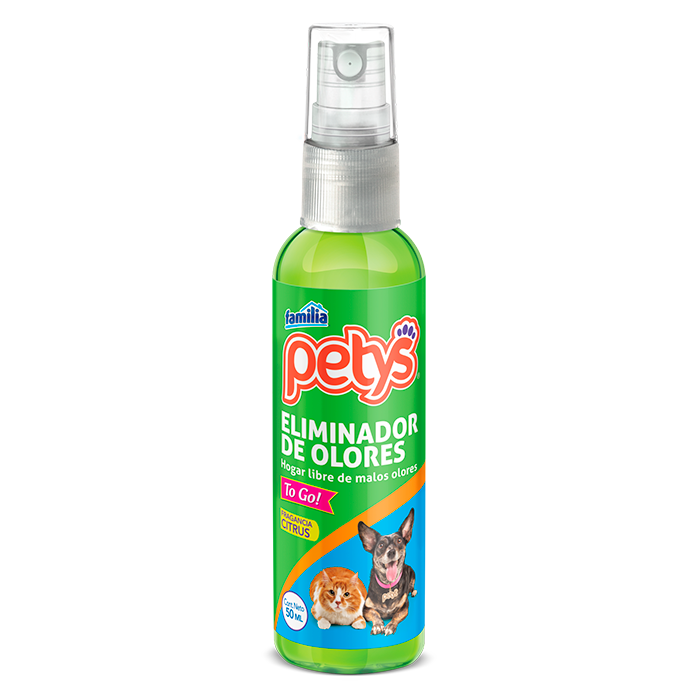 Eliminador de olores petys x 50 ml