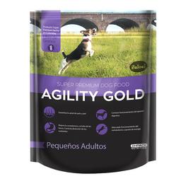 Agility gold pequeños adultos 3kg