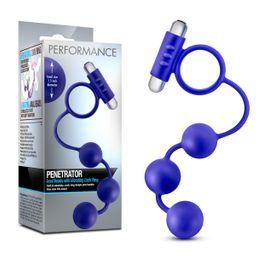 """Anillo vibrador Con bolas Anales """"Performance - Penetrator"""""""
