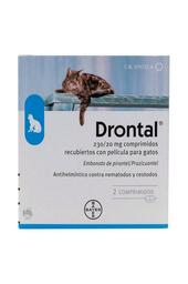 Drontal Gato 2 Tabletas