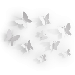 Set Mariposas White Umbra