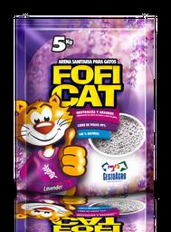Arena Fofi Cat Lavanda 5kg