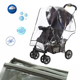 Protector de Lluvia Coche Para Bebé Gris