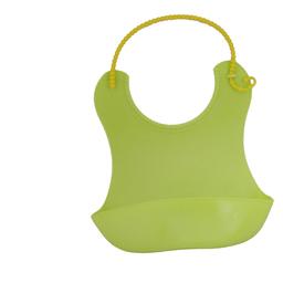 Babero SoftBib de Silicona Ajustable Verde