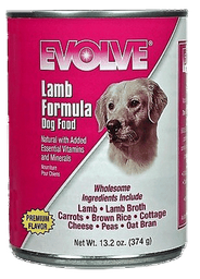 Alimento Húmedo Evolve Dog Lata Lamb 374 g