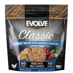 Snack Evolve Dog Wafers al Horno Chicken 340 g