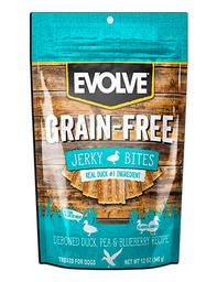 Snack Evolve Dog Grain Free Jerky Duck 12 Oz